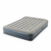 кровать-матрас intex queen mid-rise airbed with fiber-tech bip 152х203х30 см 64118